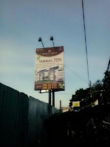Contoh Billboard Terpasang