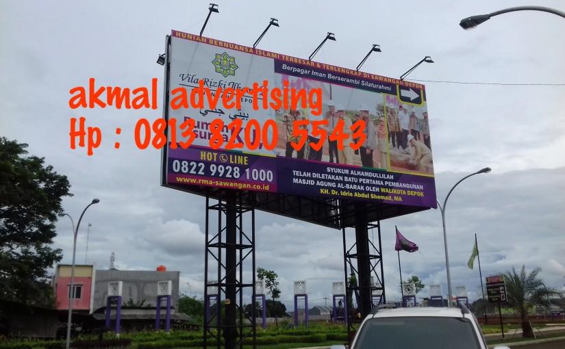 Jasa Pemasangan Billboard di Depok