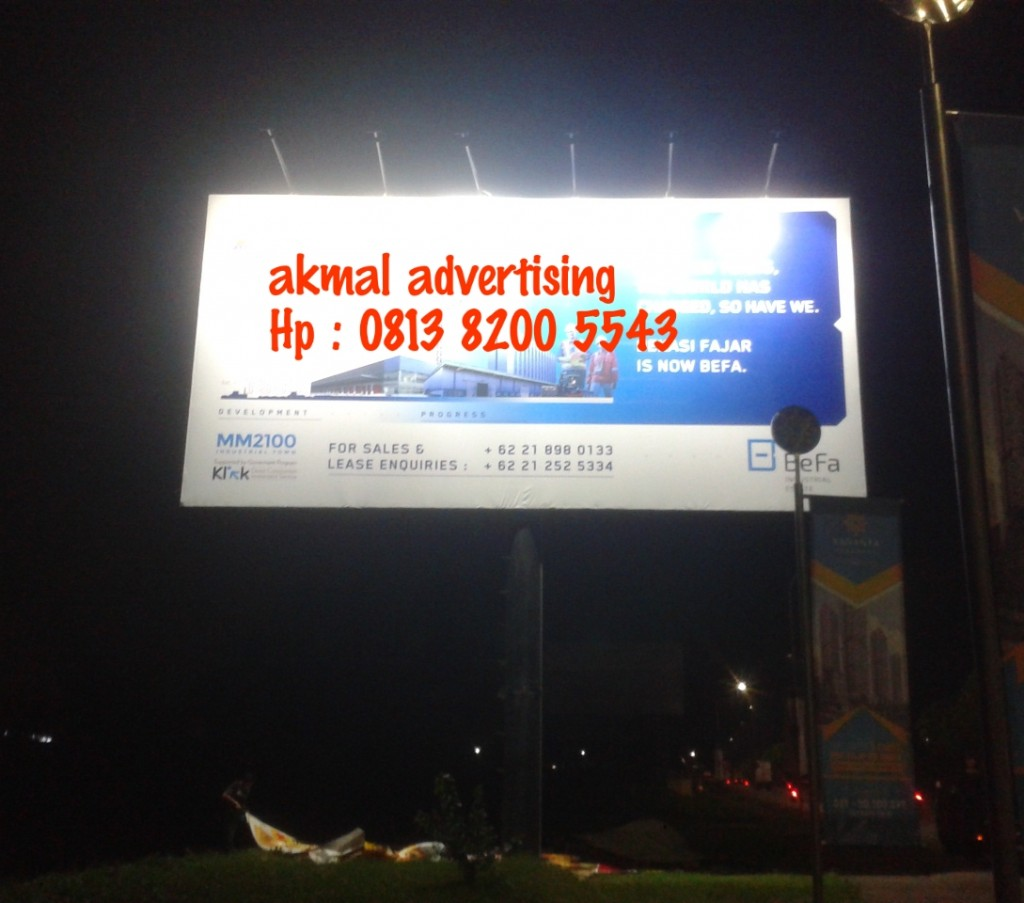 BILLBOARD UKURAN 6M X 12M HORIZONTAL
