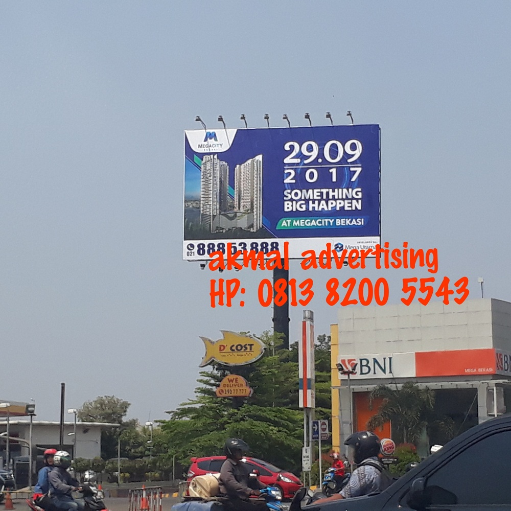 BILLBOARD UKURAN 8M X 12M HORIZONTAL