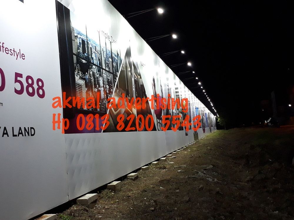 jasa pemasangan hoarding pagar di karawang