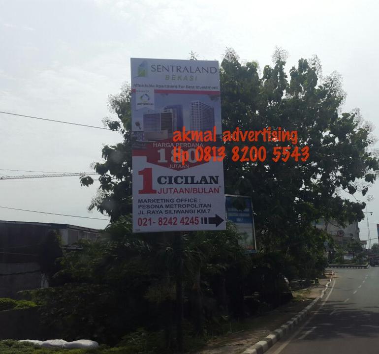 jasa pemasangan billboard di mustika jaya
