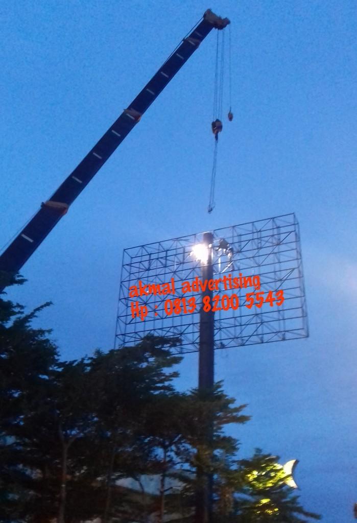 jasa pemasangan billboard di meda satria