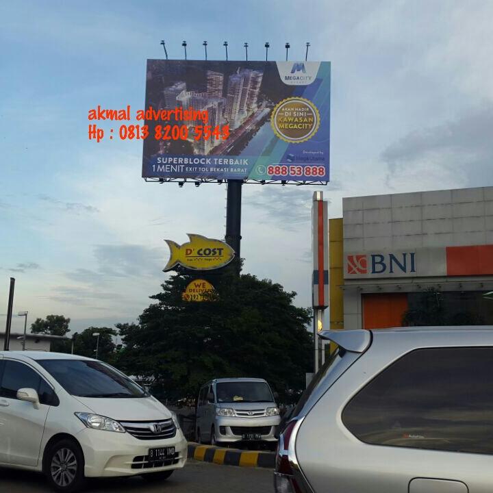 jasa pemasangan billboard di medan satria