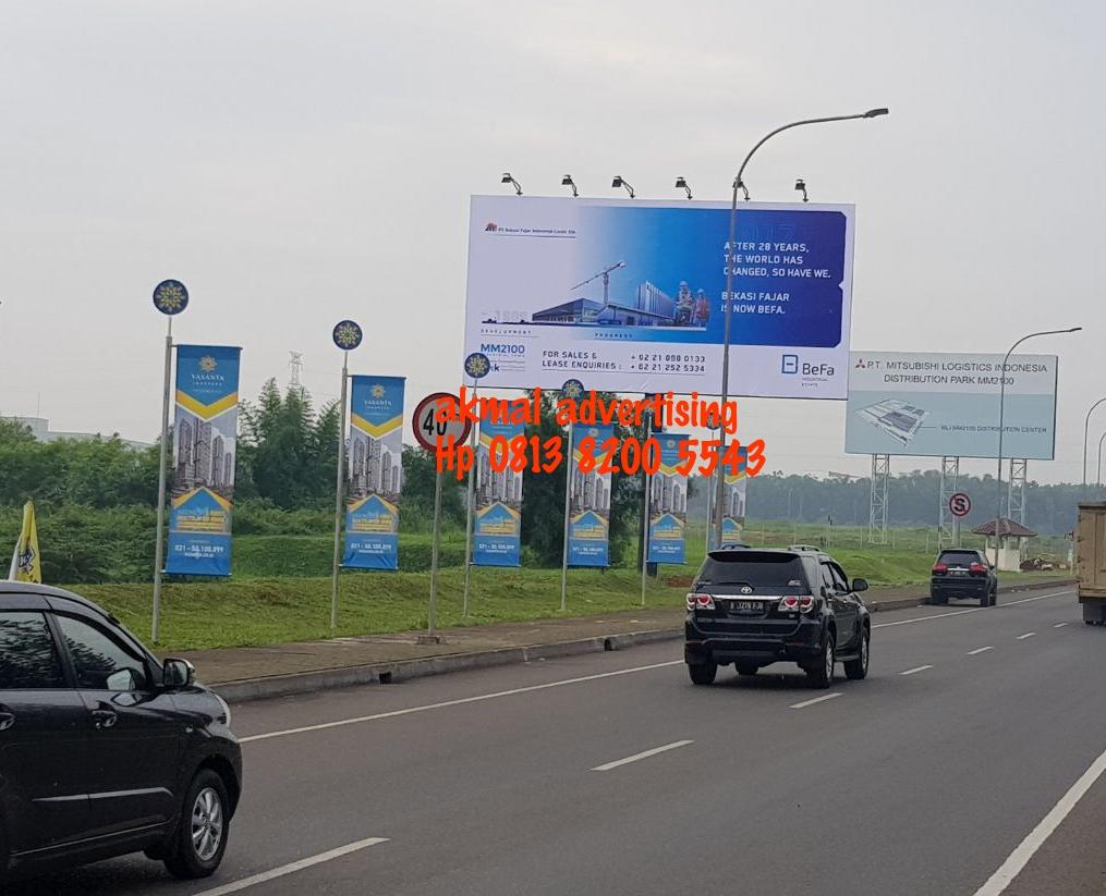 jasa pemasangan billboard di bantar gebang