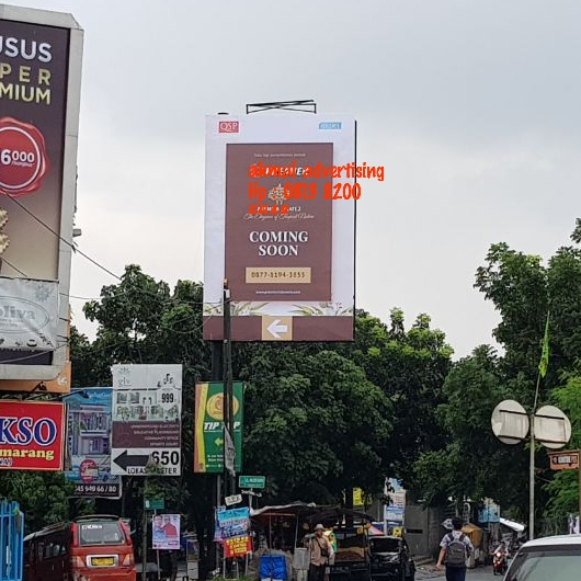 BILLBOARD 4M X 6M VERTICAL