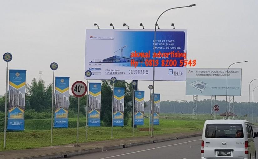Jasa Pembuatan dan Pemasangan Billboard di Bekasi