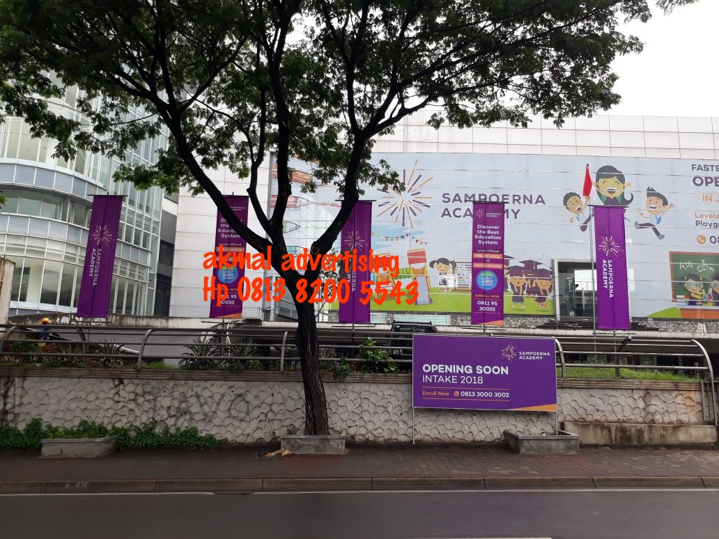 T-BANNER AREA GEDUNG