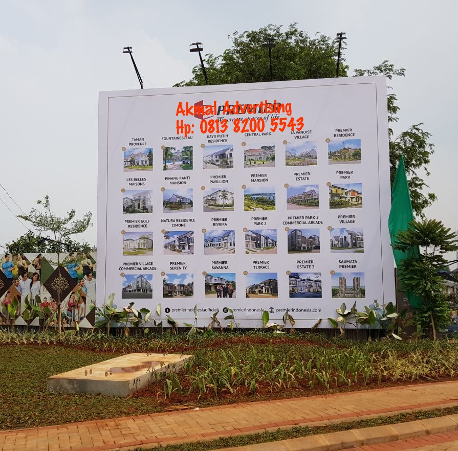 jasa pembuatan pemasangan signboard di bekasi