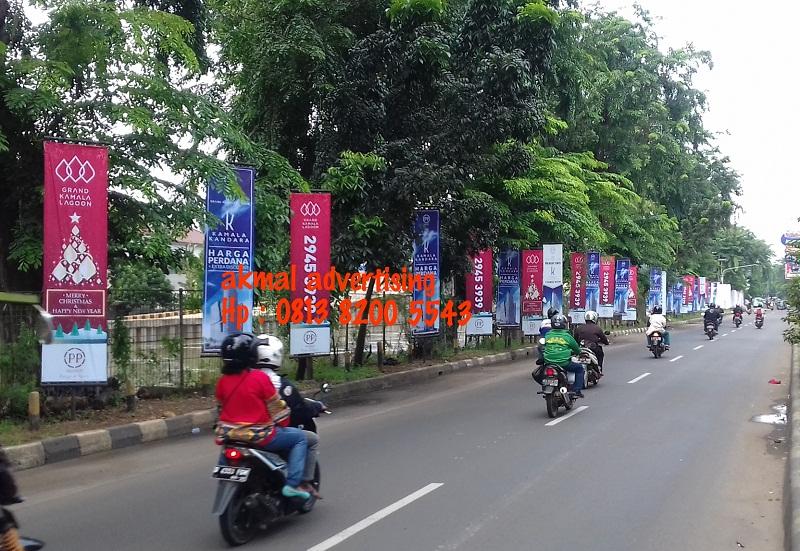 jasa pemasangan t-banner di karawang