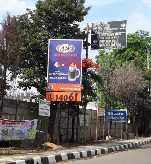 jasa pemasangan billboard cikarang