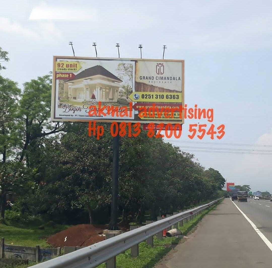 Pemasangan billboard di cikarang