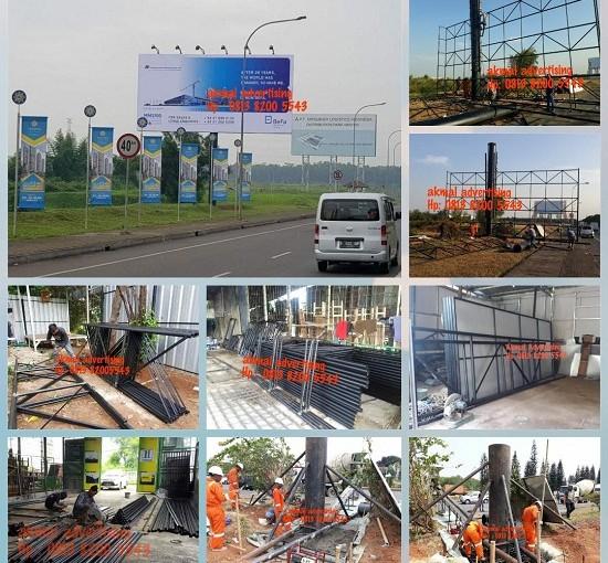 Jasa Pembuatan Konstruksi Billboard di Bogor