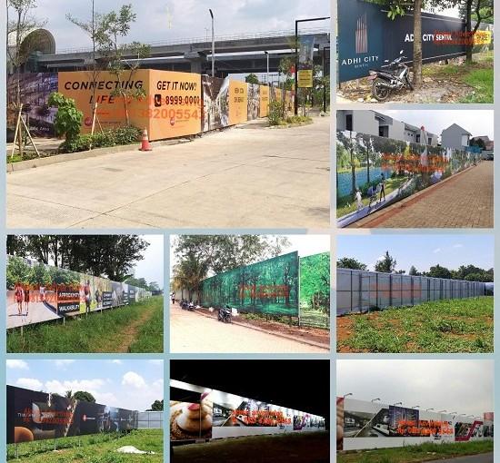 Jasa Produksi Hoarding Pagar di Bekasi