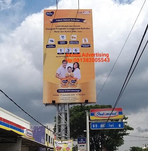 Jasa Pembuatan Pemasangan Billboard di Depok