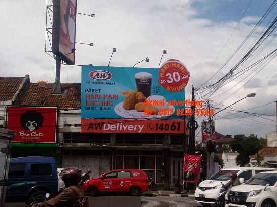 Billboard-di-serang