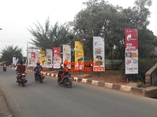 Jasa Pemasangan T Banner di Bekasi