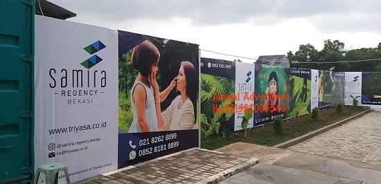 Jasa Pembuatan Hoarding Pagar di Bekasi