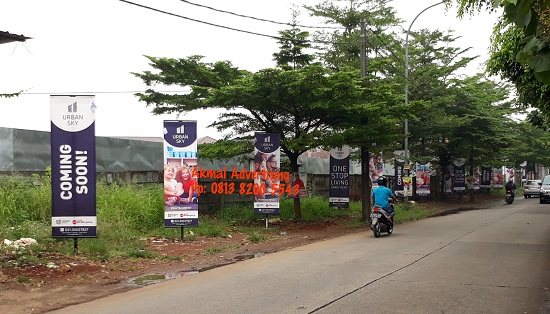 Jasa Pembuatan T Banner di Bekasi