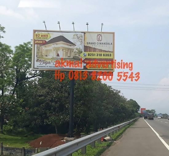 Jasa Pembuatan Billboard di Tol Jagorawi