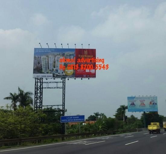 Jasa Pasang Billboard di Jalan Tol