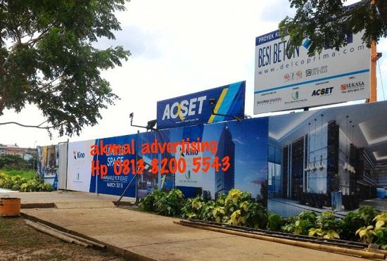Jasa Pemasangan Pagar Grafis di Bekasi