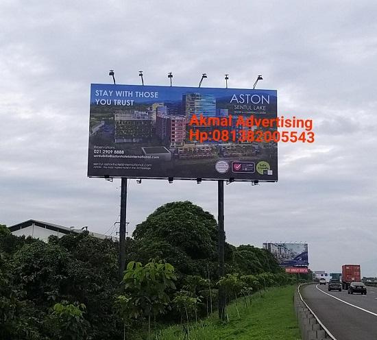 Jasa Pembuatan Billboard di Tol Tangerang