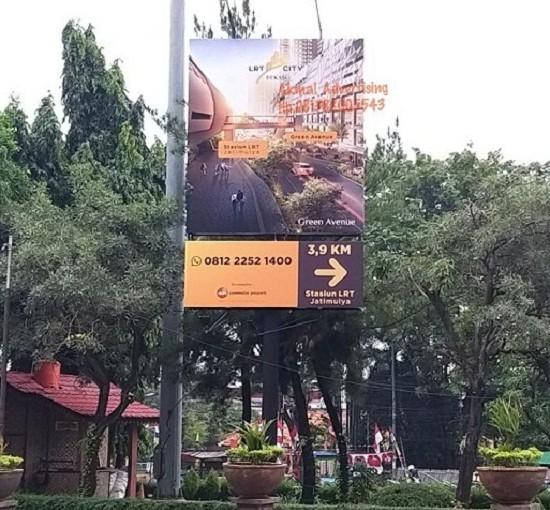 Jasa Pemasangan Billboard di Bantar Gebang Bekasi