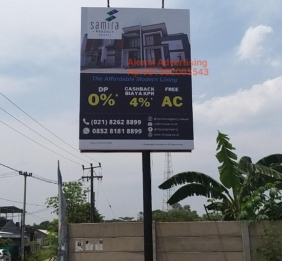 Jasa Pemasangan Billboard di Mustika Jaya Bekasi