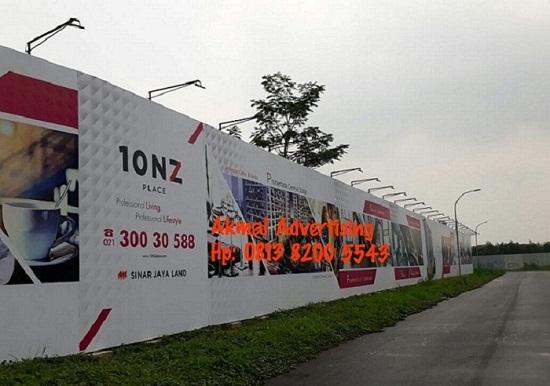 jJasa Pemasangan Hoarding Pagar di Tangerang